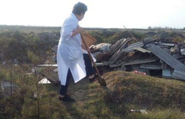 Участие специалистов филиала ЦЛАТИ по Республике Северная Осетия-Алания в  рейдовом обследование водоохраной зоны реки Терек в границах                    г. Беслан и г. Владикавказ